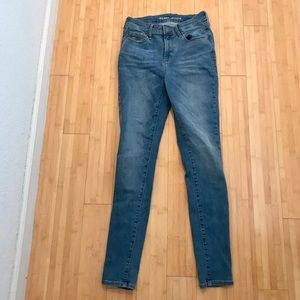 Denim blue rockstar skinny jeans